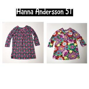 Hanna Andersson dress floral long sleeve floral 5